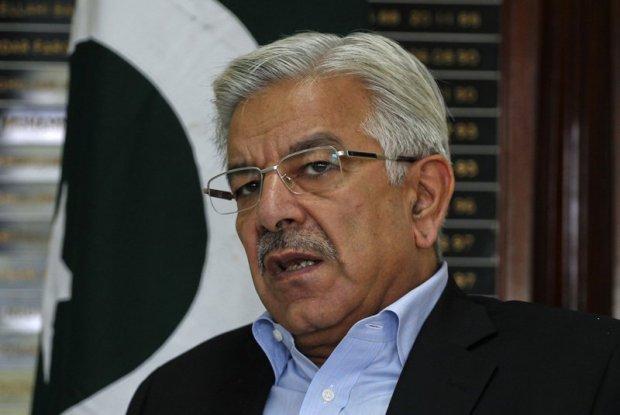 Foreign minister of Pakistan Khawajah Asif