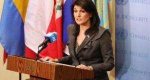 Nikki Haley - US ambassador to the UN