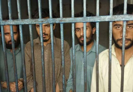 Afghan prisoners