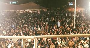 Pashtuns sit in