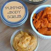Homemade Pumpkin Body Scrub