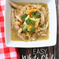 Easy White Chili