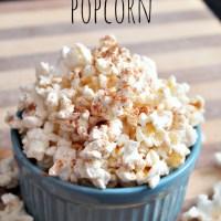 Pumpkin Spice Popcorn for Healthier Snacking