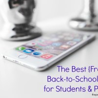 Save Money with Flipp + The Best Free Apps for Back to School & $50 GC Giveaway