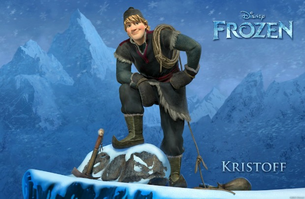 """FROZEN"" (Pictured) KRISTOFF. ©2013 Disney. All Rights Reserved."