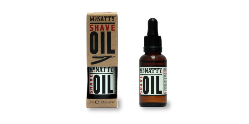Pre shave oil from mr natty