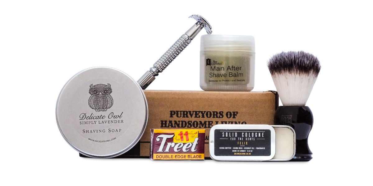 October Shaving Subscription Box The Personal Barber
