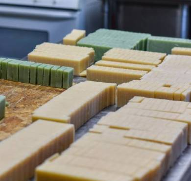 soap curing blocks