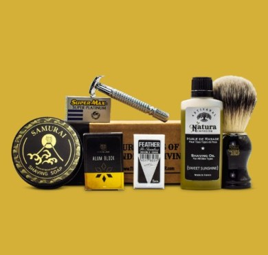 The Personal Barber JanuaryFeb Subscription Box