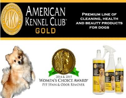 Akc Gold Stain & Odor Remover