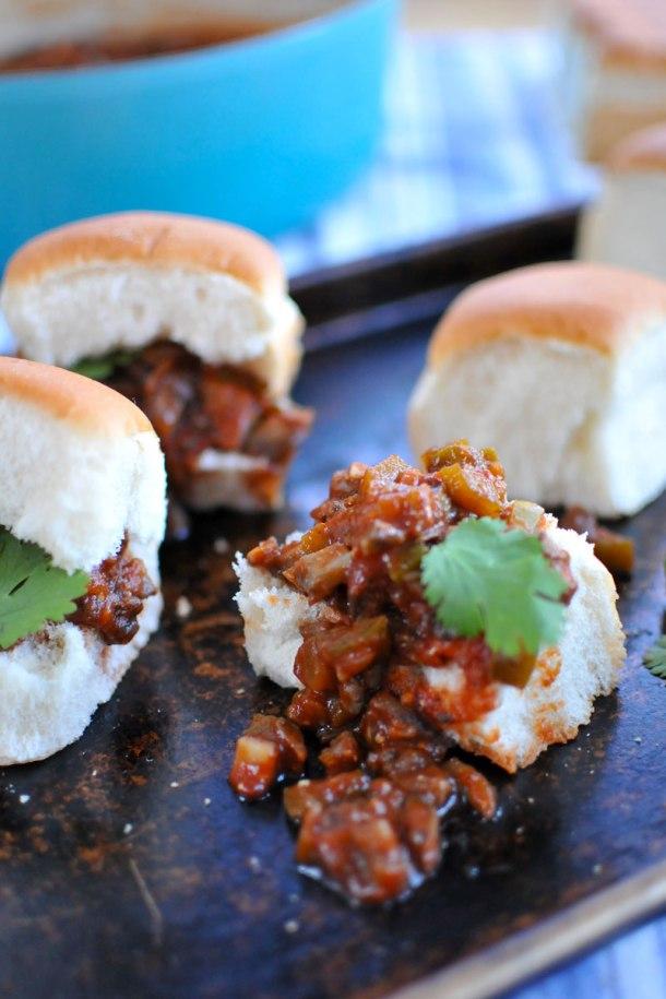 Veggie Joe Sliders (totally vegan-able!) // the pig & quill