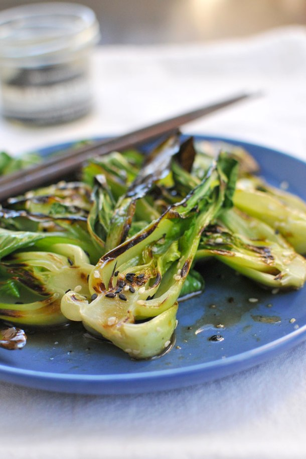 how to cut and steam bok choy