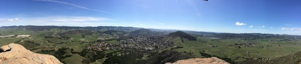 "Bishop's Peak, San Luis Obispo (""Hooky, Housekeeping...and a haiku"") // the pig & quill"