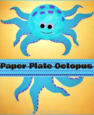 Paper Plate Octopus