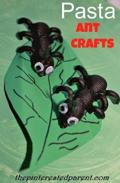 Pasta Ant Crafts
