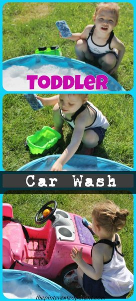 Toddler Car Wash