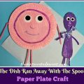 Paper Plate Hey Diddle Diddle Craft