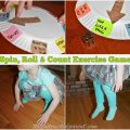 Spin, Roll & Count Exercise Game