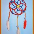 Pipe Cleaner Dream Catcher Craft