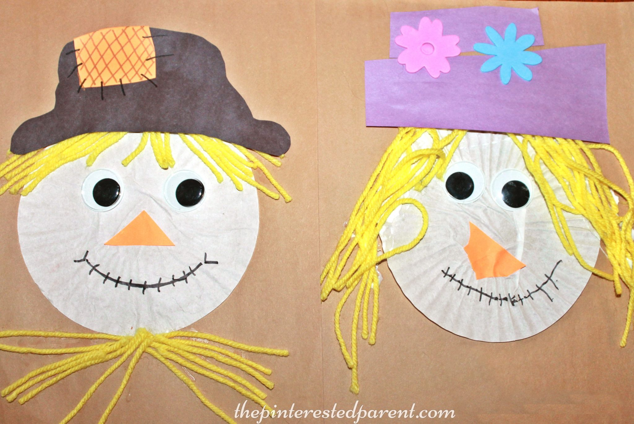 Paper Plate Emotion Masks No Time For Flash Cards & Paper Plate Scarecrow Craft No Time For Flash Cards - induced.info
