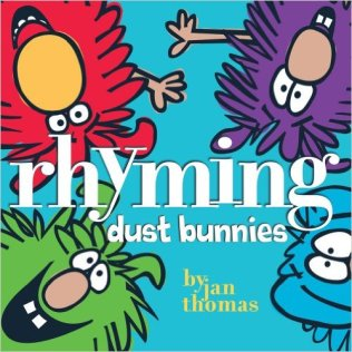 Rhyming Sudt Bunnies by Jan THomas - funny books for preschoolers