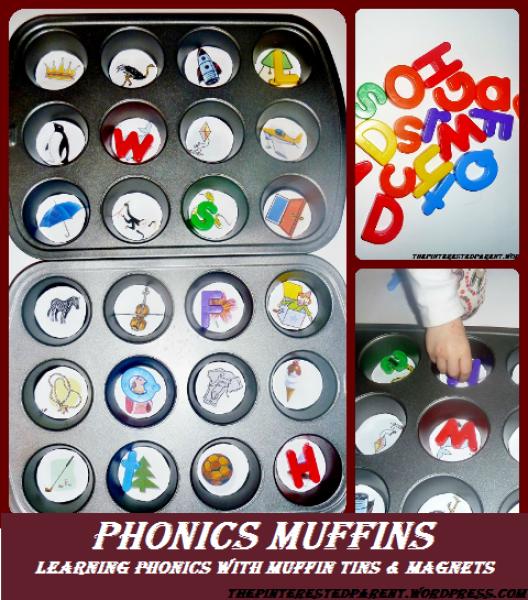 Phonics muffins