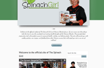 Website Design and Online Marketing for The Spinach Girl