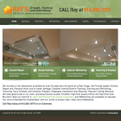 WordPress Website Design for Ray's Drywall, Painting and Refinishing