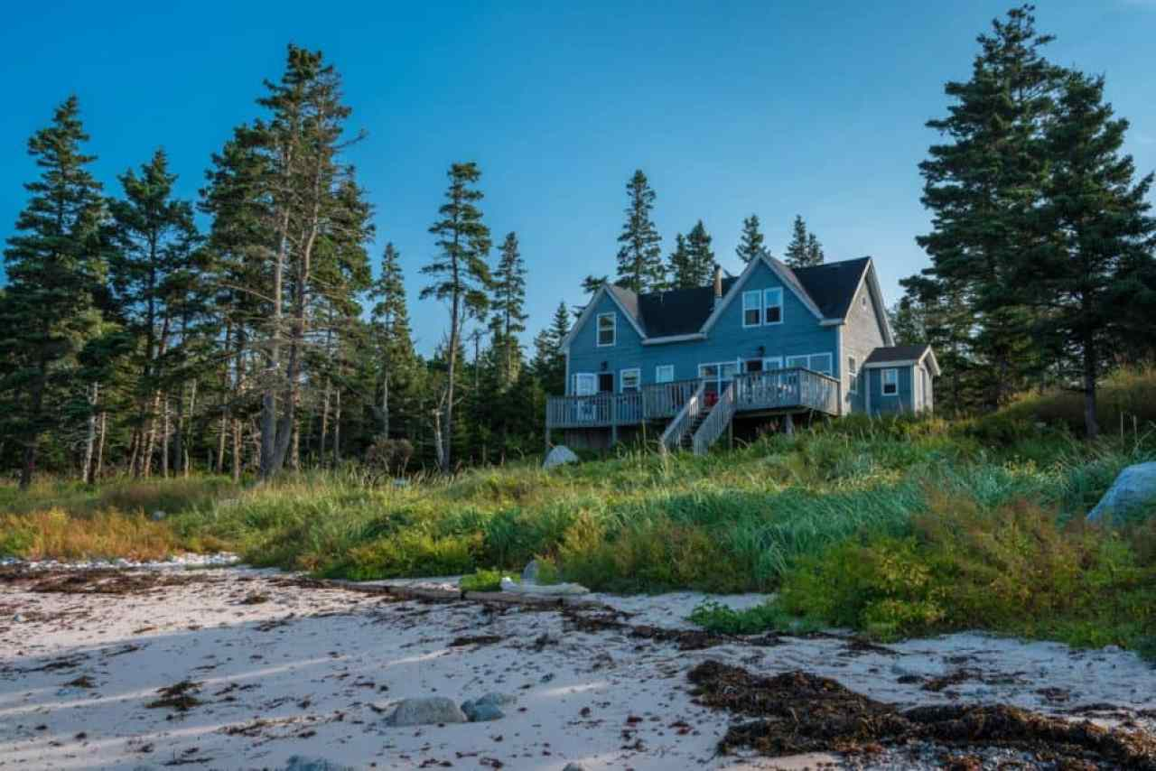 Accommodation in Nova Scotia is so diverse.