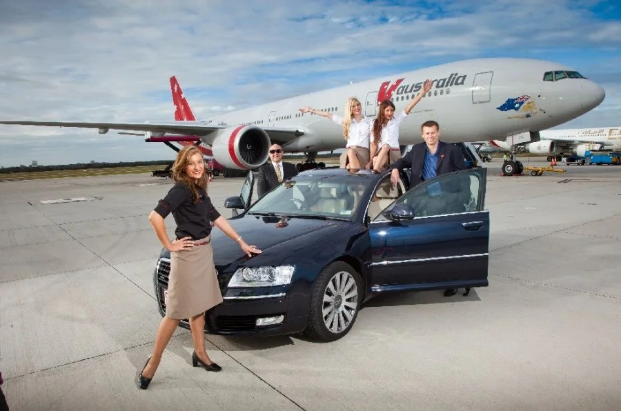 how to book chauffeur drive on etihad
