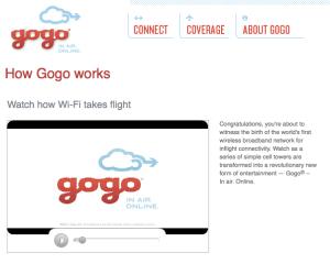 Gogo plans range from $2-$500.