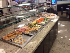 GRU Lounge Food