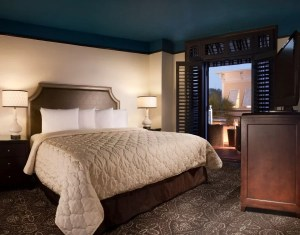 King guest room at the Crowne Plaza Key West La Concha.