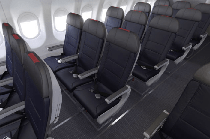 American Airlines A319 Main Cabin
