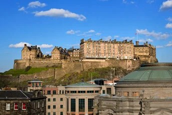 Be sure to check out the Edinburgh Castle