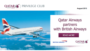 Qatar British Airways