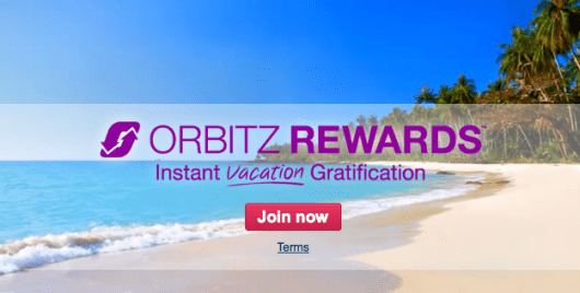 Orbitz launched its rewards program last October.