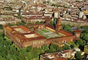You can enter the Castello Sforzesco for free!