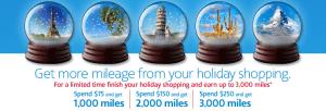 Get bonus miles from shopping via AA portals.
