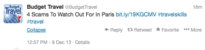Watch out for the biggest scams in Paris.