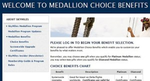 Medallion Choice Benefits.