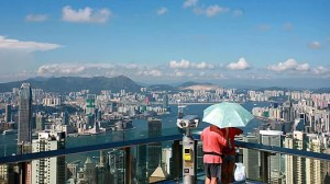 Take a ride on the Peak Tram to see some amazing views at Victoria Peak.