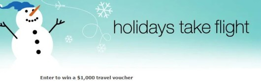 Win a $1,000 travel voucher for airfare