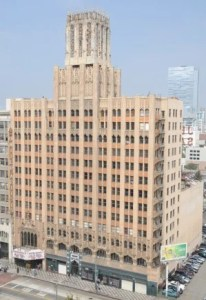 The Ace Los Angeles is located in a former United Artists Building and Theatre.