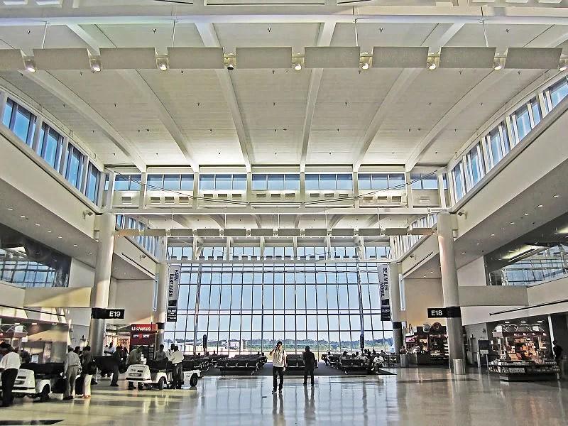 Terminal E at George Bush International Airport
