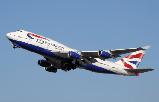 British Airways's 747-400