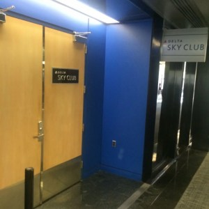The Skyclub entrance.