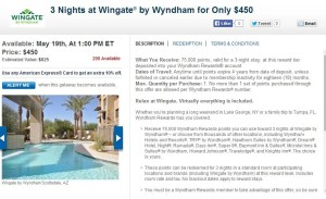 Wyndham points for purchase