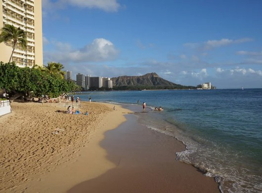 Honolulu's Waikiki Beach