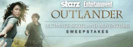 """Entertainment Weekly And the Starz show """"Outlander"""" are giving away a trip for two to Edinburgh, Scotland"""